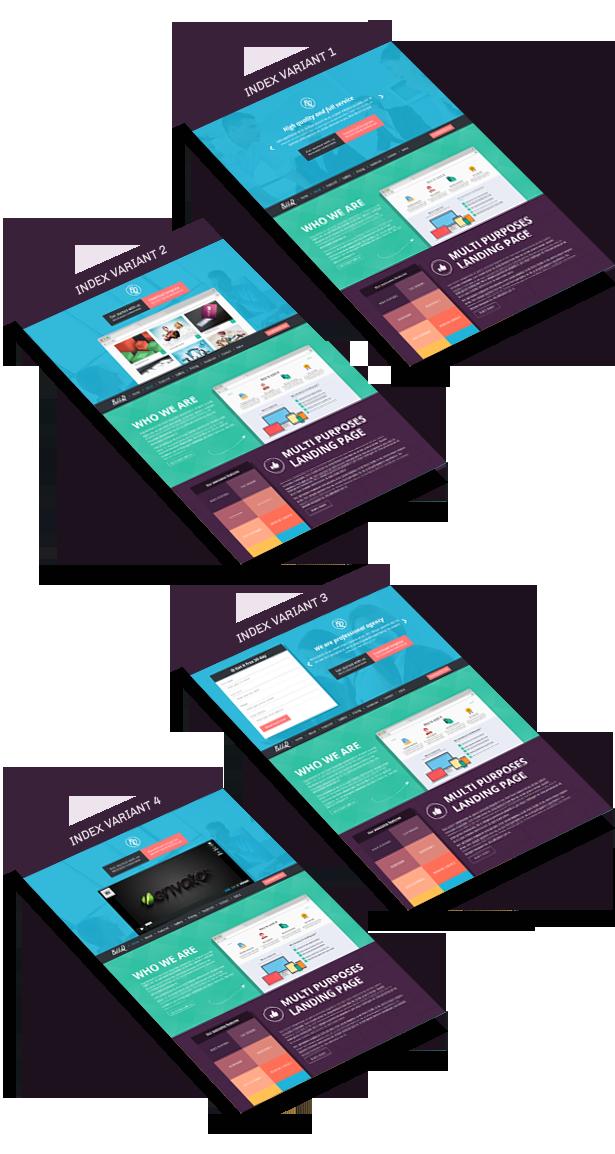 BekkoQ MultiPurpose Landing Page Muse Template